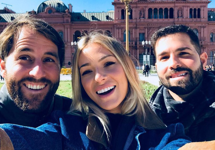 Confira as aventuras de Felipe Rocha, Rodrigo Frota e Bruna Waleska em ares argentinos