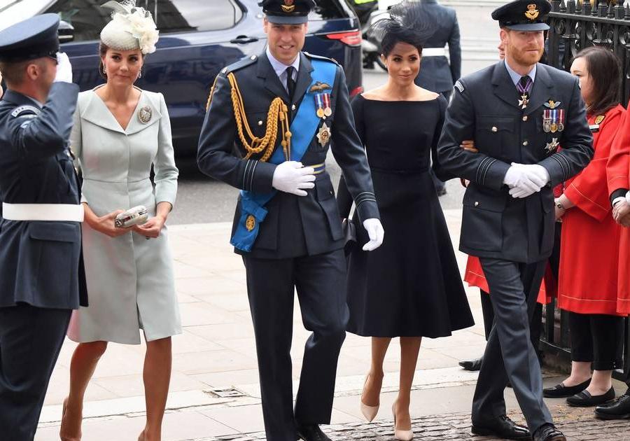 Família Real participa de celebração dos 100 anos da Royal Air Force, em Londres; veja fotos