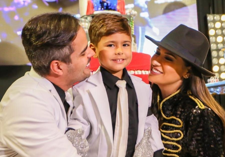 Confira imagens da festa de aniversário de Henry, filho de Simone e Kaká Diniz