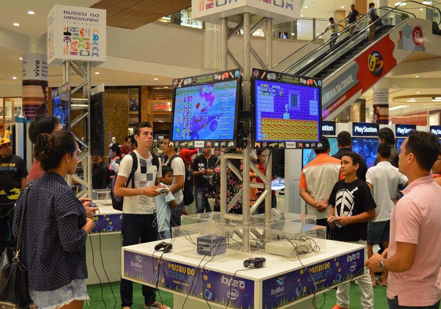 Fortaleza recebe Museu do Videogame Itinerante a partir do dia 18 de agosto