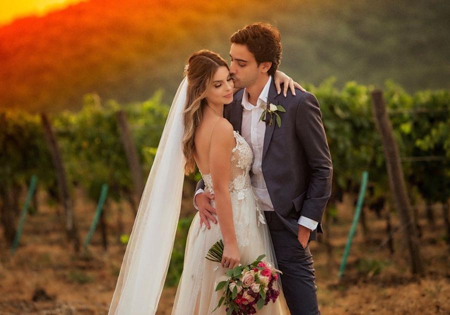 Saiba detalhes do casamento de Sthefany Brito e Igor Raschkovscky na Toscana