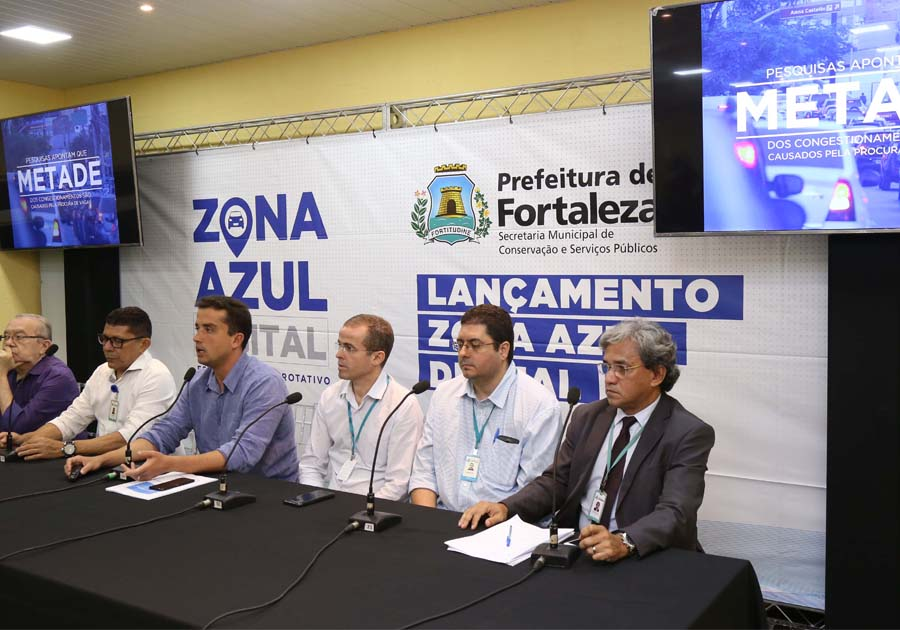 Prefeitura de Fortaleza lança Zona Azul Digital; entenda como funciona