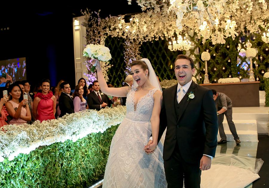 O belo registro matrimonial de Melissa Gurgel e Magno Castelo branco