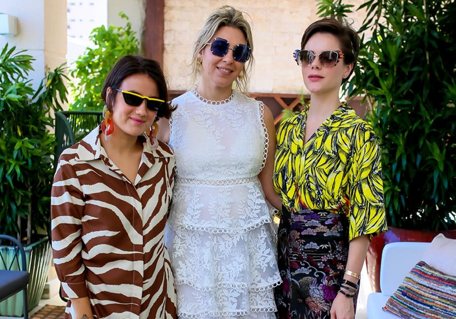 Paulinha Sampaio recebe stylist da Glamour, Juliana Bordin, para bate-papo sobre tendências em moda e eyewear