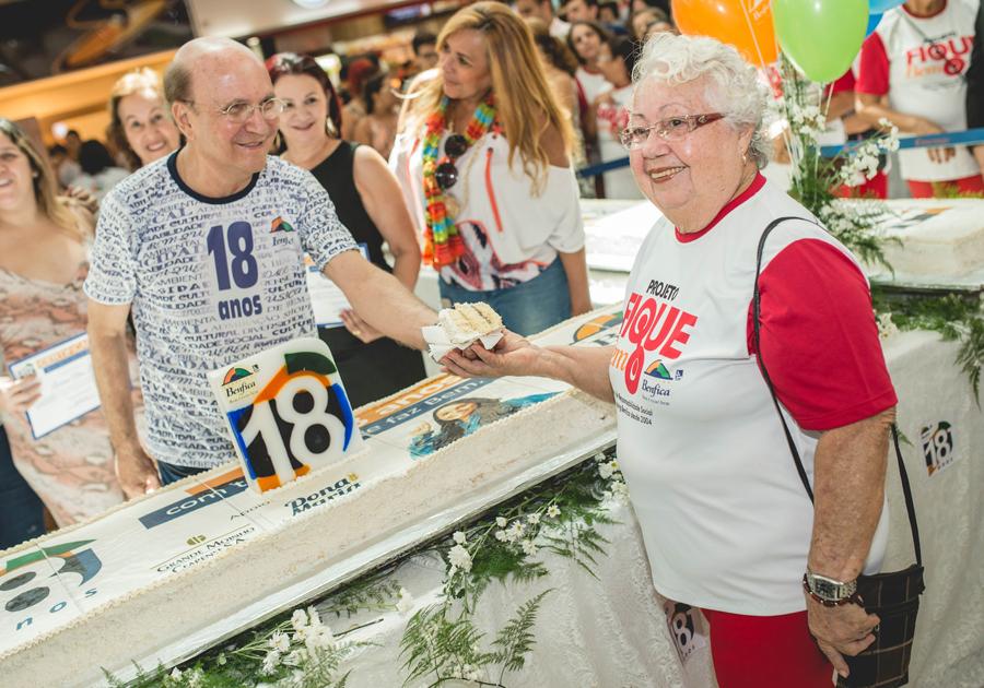 Reality culinário define novo sabor de bolo de aniversário do Shopping Benfica