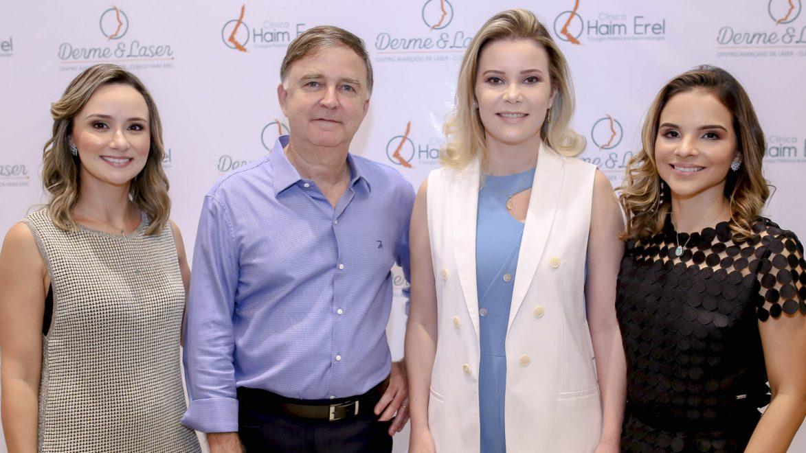 Clínica Haim Erel e Derme e Laser apresentam novidades em coquetel para os pacientes; saiba detalhes