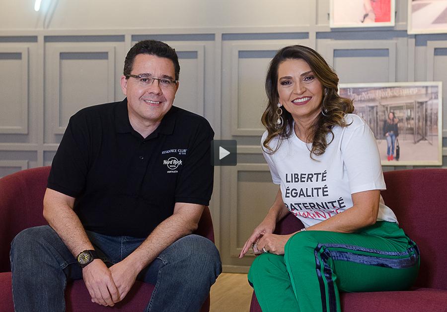 Hard Rock Hotel e Café em Fortaleza: Samuel Sicchierolli revela detalhes para Márcia Travessoni
