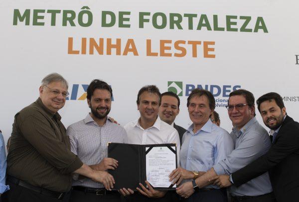 Com investimento de quase R$ 2 bilhões, obras da Linha Leste do Metrô de Fortaleza devem ser concluídas em 4 anos