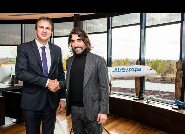 Air Europa vai operar dois novos voos semanais de Fortaleza para a capital espanhola
