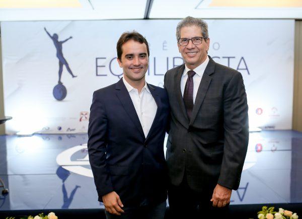 Ari de Sá Neto é eleito Equilibrista do ano durante solenidade no hotel Gran Marquise