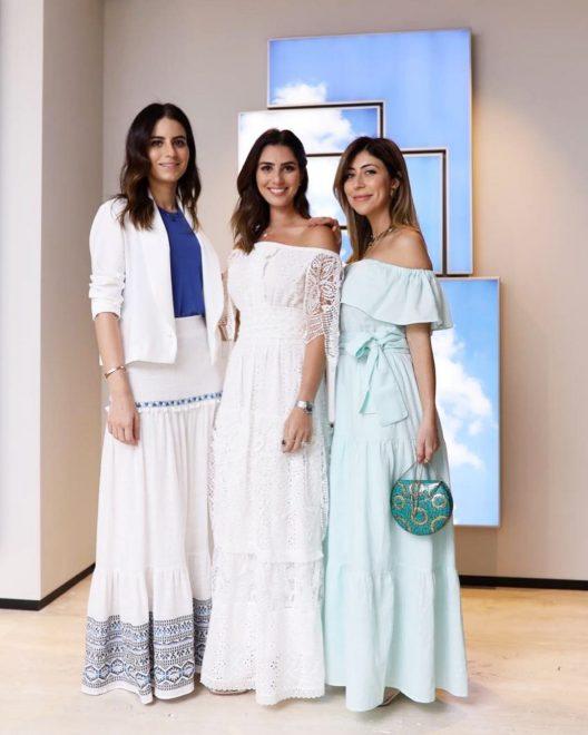 Nicole Pinheiro e Anna Carolina Bassi apresentam coleção em parceria; lançamento aconteceu durante almoço em SP
