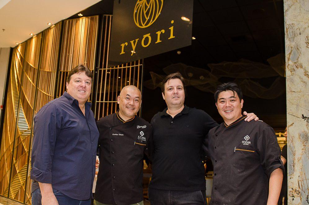 Novo Ryori é inaugurado no Shopping Iguatemi com coquetel para convidados