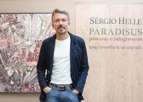 Inaugurada terça (13), nova exposição de Sérgio Helle une a natureza e o sagrado em um espetáculo de cores
