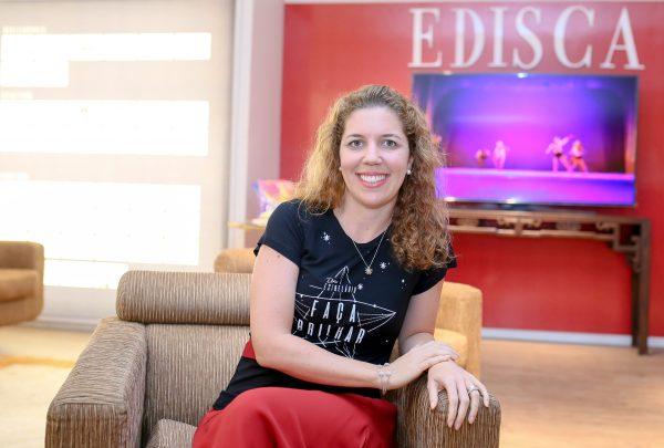 Ticiana Rolim Queiroz palestra sobre Capitalismo Consciente no lançamento de empreendimento residencial