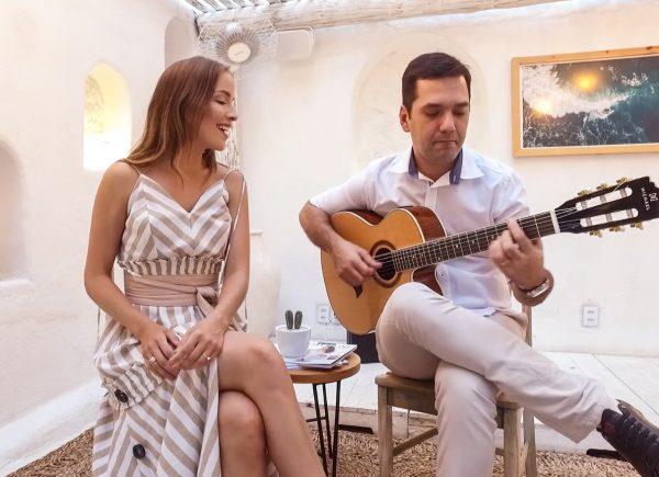 Clássicos da MPB com a voz e a presença de Giovana Bezerra