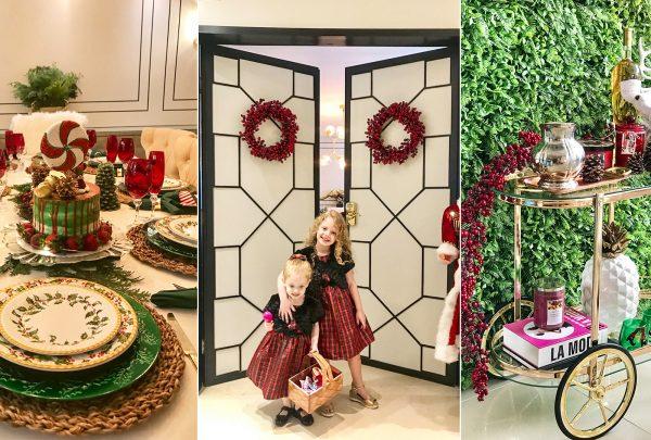 Raquel Macêdo revela a décor de Natal deslumbrante do seu apartamento; confira