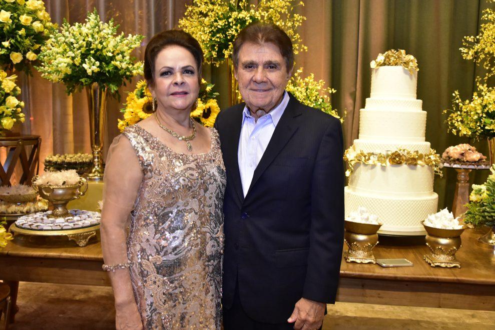 Jorge e Nadja Parente celebram suas bodas de ouro e uma trajetória de amor