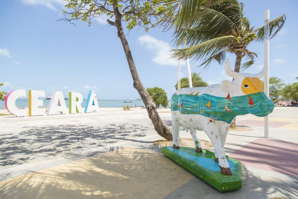 Leilão beneficente das vaquinhas da CowParade Fortaleza está aberto para lances