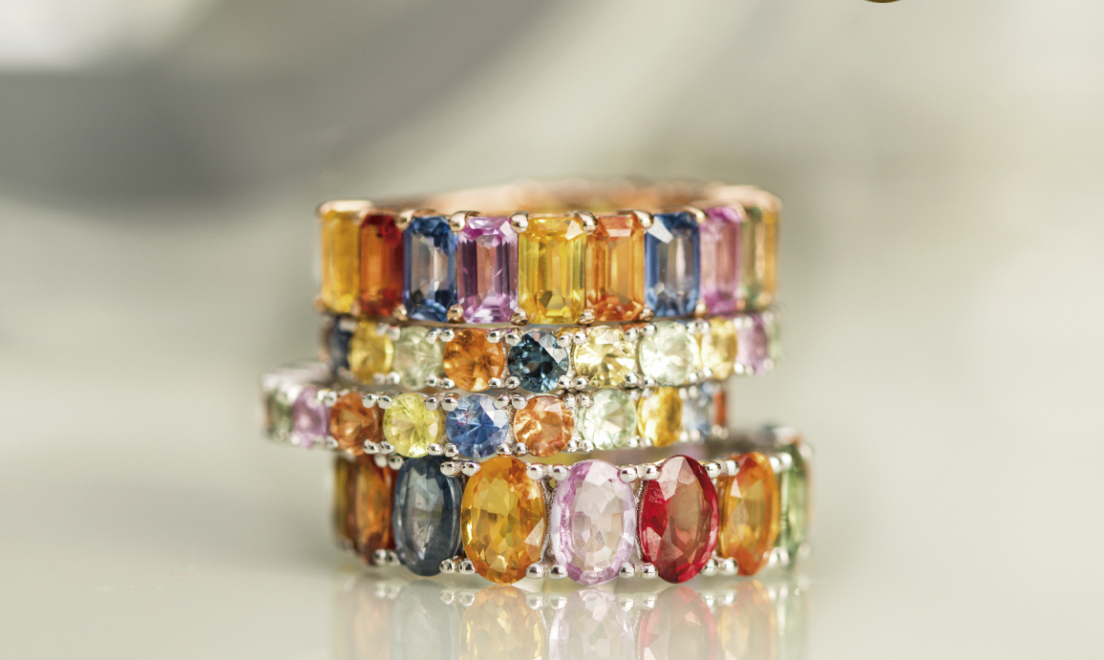 Dica de presente de Natal: Rainbow Collection da Tallis Joias