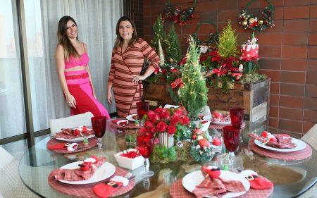 Que tal montar uma mesa de Natal ousada? Andréa Bonorandi ensina