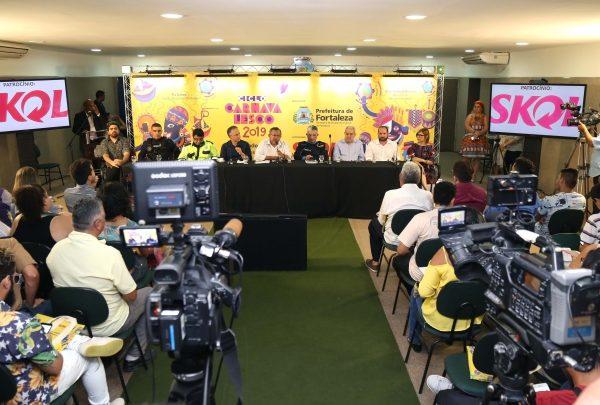 Com investimento de mais de R$ 1,5 milhão, pré-carnaval de Fortaleza terá programação em nove polos; confira