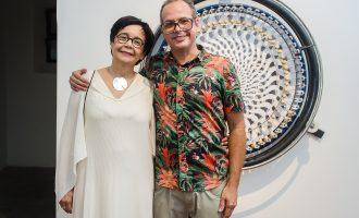 """Catálogo da exposição """"Dhamma"""", projeto do artista Narcélio Grud, é lançado no último dia da mostra"""