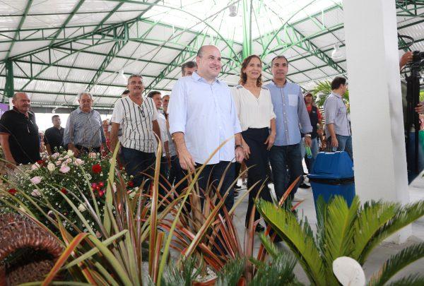Mercado das Flores e Plantas Ornamentais é inaugurado em Fortaleza com a presença de autoridades