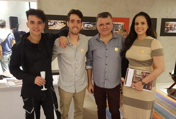 Omar de Albuquerque promove coquetel de lançamento da Mostra 100% Design em Teresina