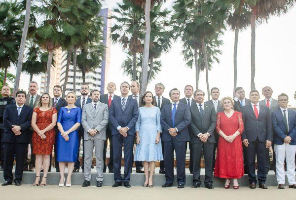 Gabinete do Governador do Estado do Ceará é empossado em solenidade no Palácio da Abolição