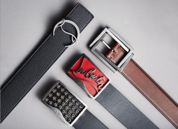 Christian Louboutin apresenta sua nova categoria de produtos: cintos masculinos (luxuosos)