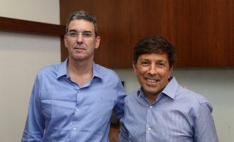 Geraldo Luciano assume direção estadual do Partido Novo e recebe João Amoedo para discutir novos caminhos para o Brasil