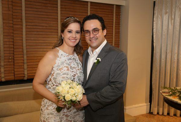 Confira as fotos do casamento civil de Karina Moreira e João Paulo Bezerra de Menezes