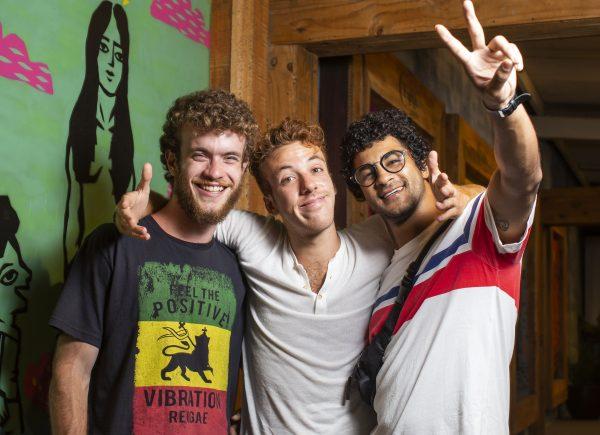 De férias, João Côrtes, Bruno Suzano e Vitor Thiré descansam no Ceará