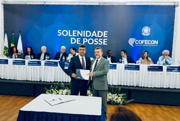 Lauro Chaves Neto toma posse como conselheiro efetivo do Conselho Federal de Economia