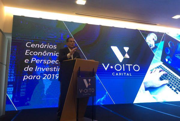Em evento no Gran Marquise, Beto Studart se mostra otimista com o mercado financeiro brasileiro