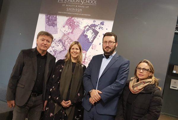 Em Londres, executivos da Fecomércio prospectam parceria com escolas de beleza e visitam exposições de cearenses
