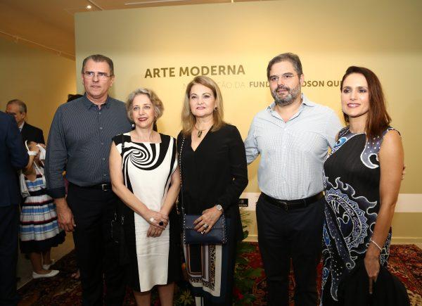 """Exposição """"Arte Moderna na Coleção Fundação Edson Queiroz"""" é oficialmente aberta na Unifor"""