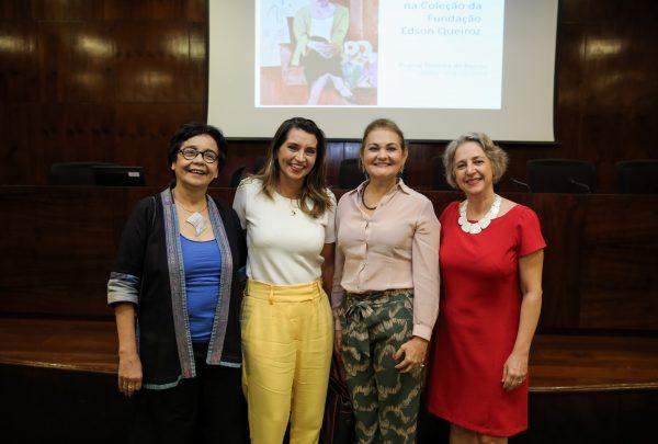 """Regina Teixeira de Barros faz palestra sobre a exposição """"Arte Moderna na Coleção Fundação Edson Queiroz"""""""
