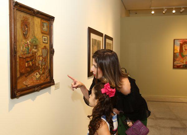 """Tour pela exposição """"Arte Moderna na Coleção da Fundação Edson Queiroz"""""""