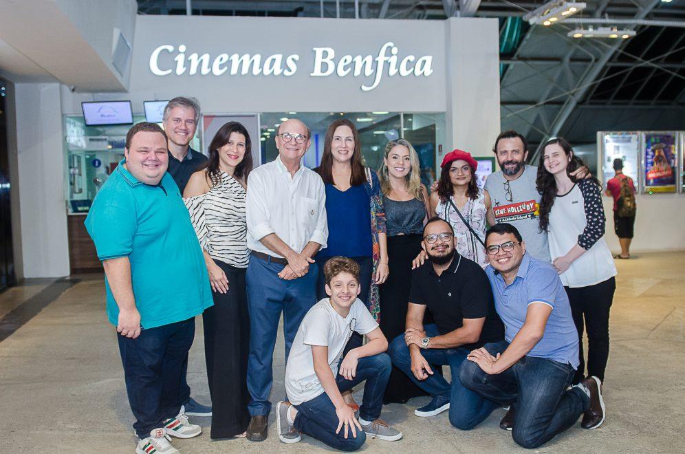 "Benfica recebe estrelas de ""Cine Holliúdy 2 – A Chibata Sideral"" para bate-papo animadíssimo"