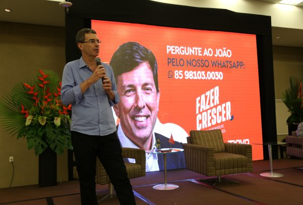 À frente do Novo, Geraldo Luciano lança campanha de conscientização sobre corrupção