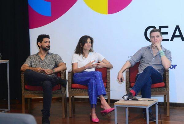 Integrantes do coletivo Objeto Comum participam da Ceará Design Week; programação segue até o dia 31 de março