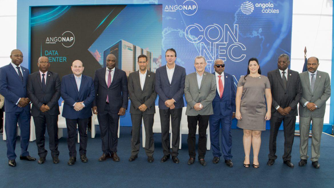 """""""Fortaleza é um hub natural de cabos submarinos"""", diz António Nunes, CEO da Angola Cables, ao inaugurar Data Center em Fortaleza"""