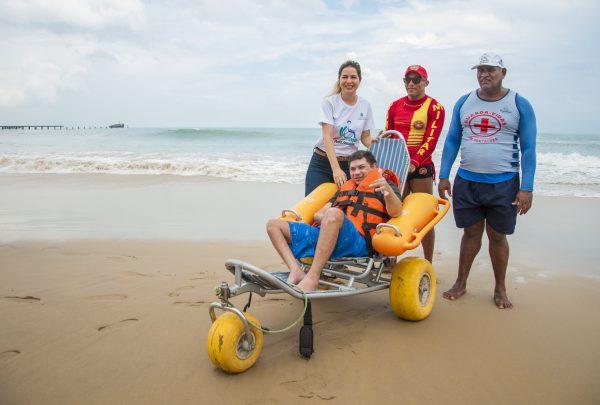 Projeto Praia Acessível completa 3 anos no Ceará