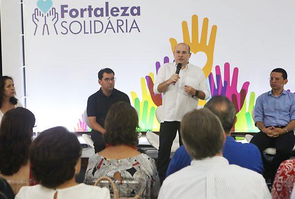 Prefeito Roberto Cláudio apresenta Programa Fortaleza Solidária