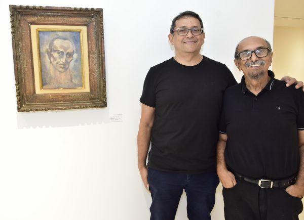 Artista Ismael Nery foi tema central de bate-papo com os curadores José Guedes e Roberto Galvão
