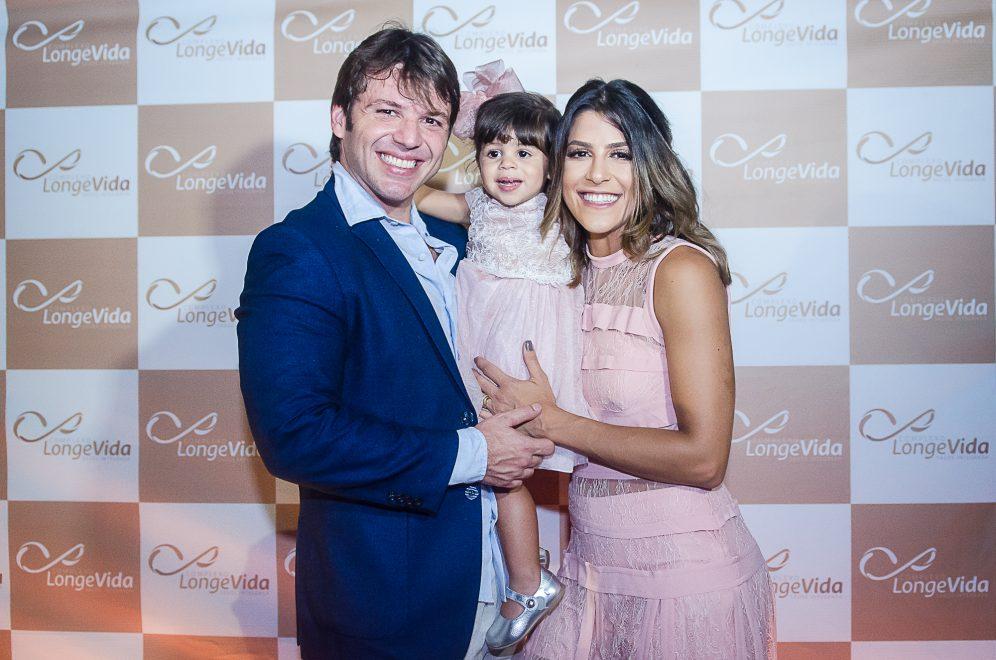 Paulo Porto e Clarissa Aguiar    inauguram Complexo LongeVida, espaço que tem como proposta promover saúde, qualidade de vida e bem estar