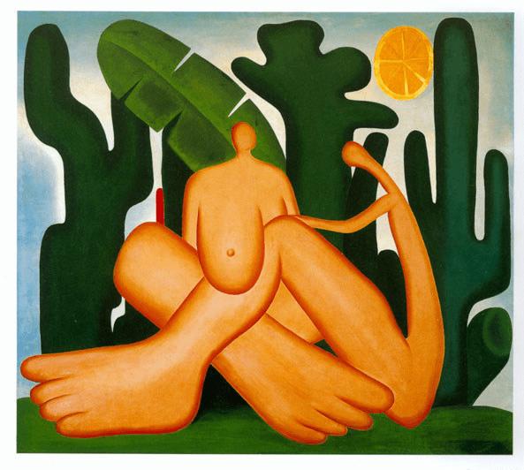 Mostra gratuita em São Paulo reúne obras da pintora Tarsila do Amaral