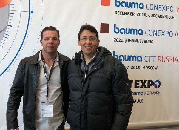 C. Rolim Engenharia marca presença na maior feira da indústria da construção, na Alemanha