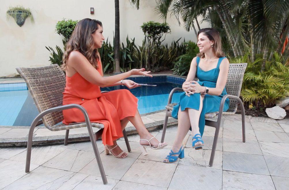 """Primeira-dama Carol Bezerra no """"Mulheres Extraordinárias – na vida e nos negócios"""""""